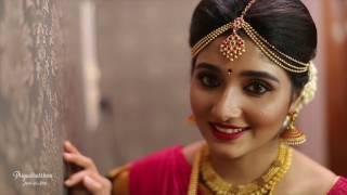 TRADITIONAL SOUTH INDIAN BRIDAL LOOK | MUHURTHAM MAKEOVER| Priyadharshini - Make Up Artist