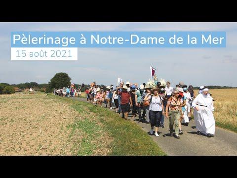 Pèlerinage à Notre-Dame de la Mer 2021 avec Mgr Luc Crepy
