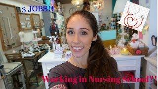WORKING 3 JOBS AND IN NURSING SCHOOL!!!! ♥