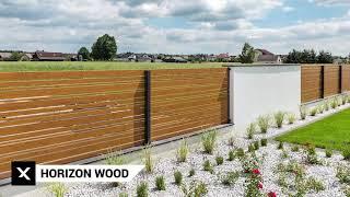 Ogrodzenia Horizon Wood - XCEL