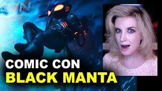 Aquaman Movie Black Manta FIRST LOOK