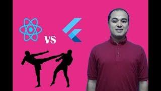react native vs flutter | برمجة تطبيقات الهواتف الذكية