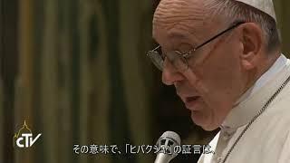 教皇様:「核兵器のない世界と包括的軍縮への展望」