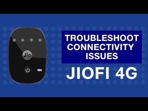 How to Troubleshoot Internet Connectivity Issues of JioFi Device