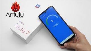 Xiaomi Redmi Note 7 – Тест Antutu .Распаковка .Комплектация . Краш – тест .