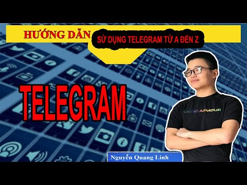 Hướng dẫn telegram 4: Cài và sử dụng phiên bản trên máy tính