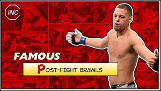 Famous Post-Fight Brawls in MMA