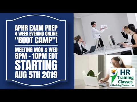 aPHR Exam Prep Sample Video - Questions and Answer Session ...