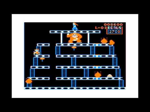 Donkey King for the TRS-80 CoCo