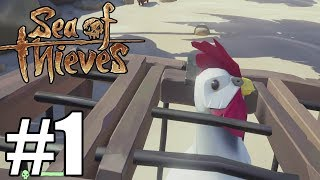 Sea of Thieves Gameplay Walkthrough Part 1 ( Full Game ) - No Commentary