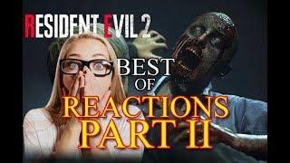 Resident Evil 2 Best of Reactions PART II - E3 2018 Live Reveal Trailer