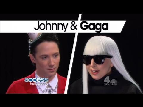 Johnny Weir interviews Lady Gaga