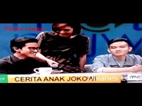 Serunya Kaesang & Gibran saat Telphone Presiden Jokowi di Mata Najwa