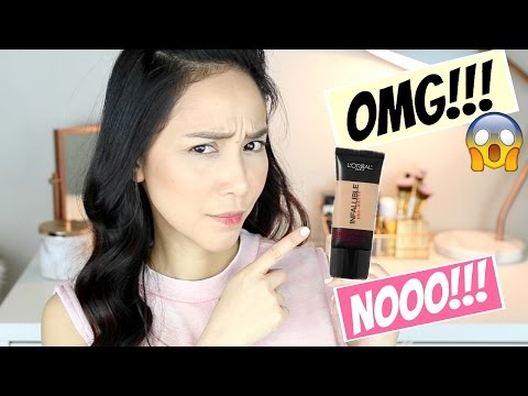 L'Oreal Infallible PRO MATTE Foundation REVIEW   GET OR FORGET