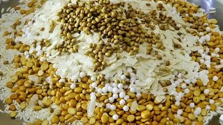 खमंग चकलीची भाजणी | Chakali Bhajani By Madhurasrecipe | Diwali Recipes