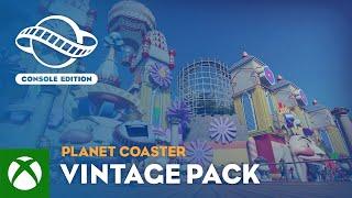 Xbox Planet Coaster: Console Edition   Vintage Pack Trailer anuncio