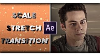 scale stretch transition | after effects