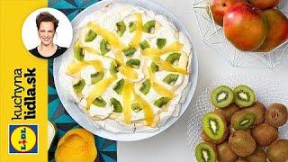 Pavlovovej torta s mangom a kivi | Adriana Poláková | Kuchyna Lidla
