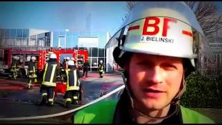 preview picture of video 'Bielefeld: Großbrand am Schelpmilser Weg'