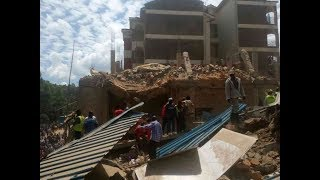 Seven people confirmed dead after the collapse of a building in Kisii
