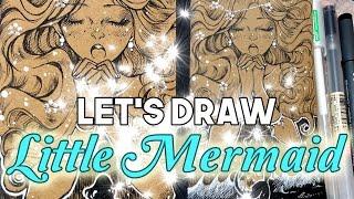 Fairy Tale Illustration: The Little Marmaid