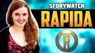 Rapida Интервью | Про Канал, Как попасть в выпуск, Overwatch, Свою Команду - SforyWatch #1