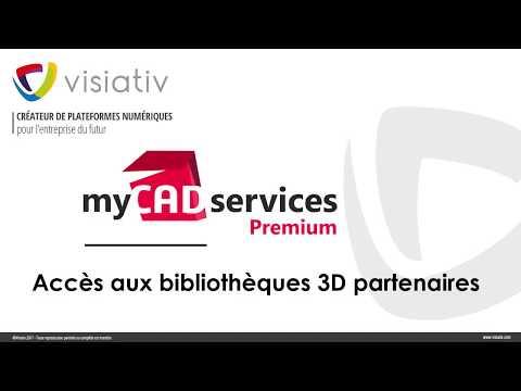 Accès aux bibliothèques 3D Partenaires