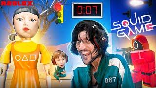ROBLOX SQUID GAME (Last Man Standing wins 1 Million Robux) FGTeeV Red Light Green Light