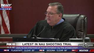 WOW: Judge Informs Jury That Prosecution Gave Wrong Info in Steven Jones-NAU Shooting Trial (FNN)