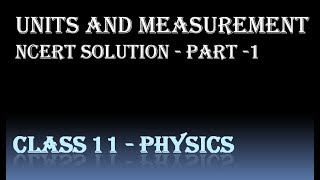 ncert class 11 physics chapter 2 exercise solutions 2 3