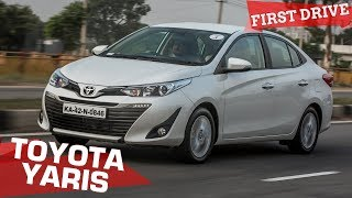 2018 Toyota Yaris Review | Ready to out-luxe the City, Verna and Ciaz? | ZigWheels.com