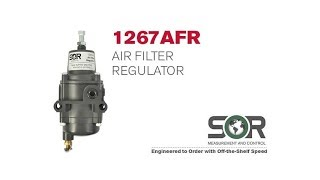 1267AFR Air Filter Regulator