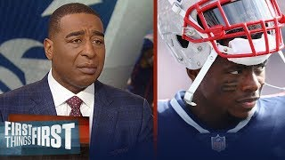 Cris Carter's emotional reaction to Josh Gordon leaving football   NFL   FIRST THINGS FIRST