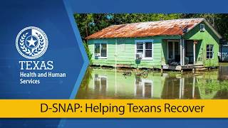 HHS D-SNAP: Helping Texans Recover