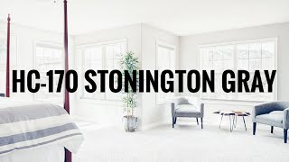 Benjamin Moore Stonington Gray | HC-170 Colour Review
