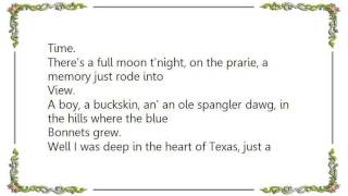 Chris LeDoux - Blue Bonnet Blues Lyrics