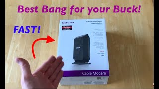 BEST Modem for wifi TV & Cable streaming - Youtube TV/Hulu/Direct TV