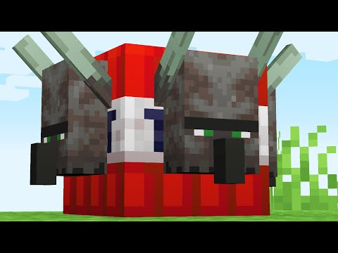 We turned Minecraft 1.14 Mobs into a TNT Update