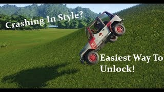 Jurassic World: Evolution. Easiest way to Unlock All Jeep Skins in the Game!