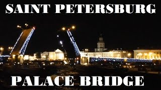 НОЧЬ | Санкт-Петербург | Дворцовый мост | Jamala | COUB