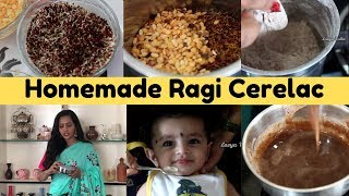Lasya Talks || Home Made Ragi Cerelac || Baby Food for 6 to 12 Months || Healthy ||