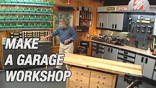 Make A Garage Workshop