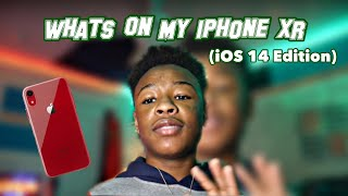 What's On My iPhone XR 📲 || iOS 14 edition || (Including how to do widgets and shortcuts)
