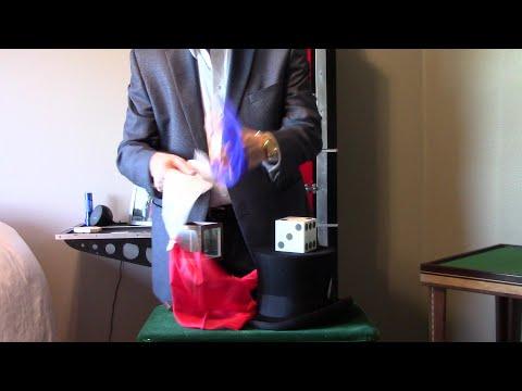 Die and Silk Casket by Owen Magic Supreme