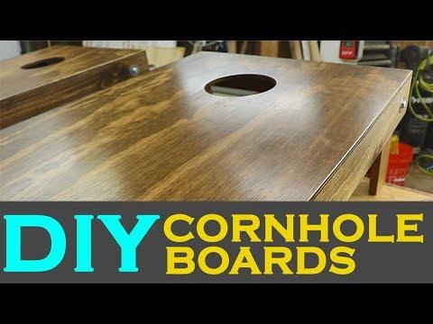 How To Make DIY Cornhole Boards