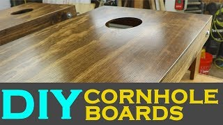How To Make DIY Cornhole Boards