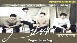 2AM - Just Stay [English Subs + Romanization + HD]