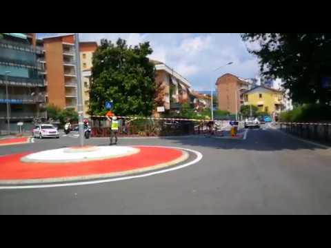 Preview video Ivrea: giro ciclistico della Valle d´Aosta