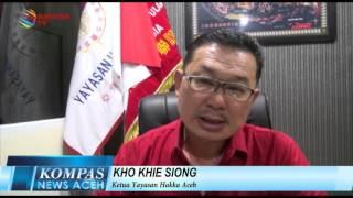 BARONGSAI SEMARAKAN IMLEK DI BANDA ACEH  KOMPAS NEWS ACEH 09/02/2016
