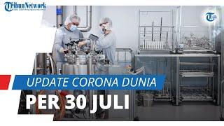 Update Corona Dunia per 30 Juli : Total 197,2 Juta Terinfeksi, 178,4 Juta Dinyatakan Telah Sembuh
